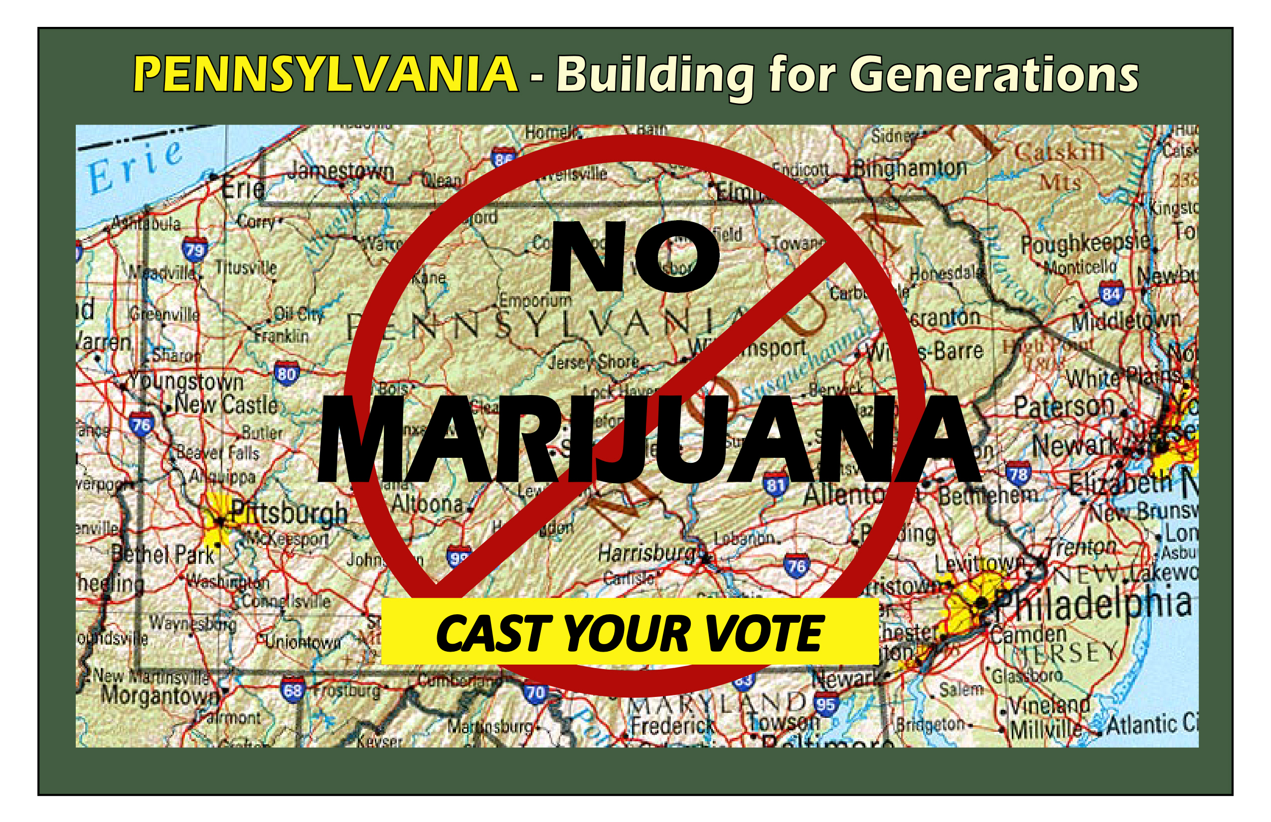 NO MARIJUANA IN PA